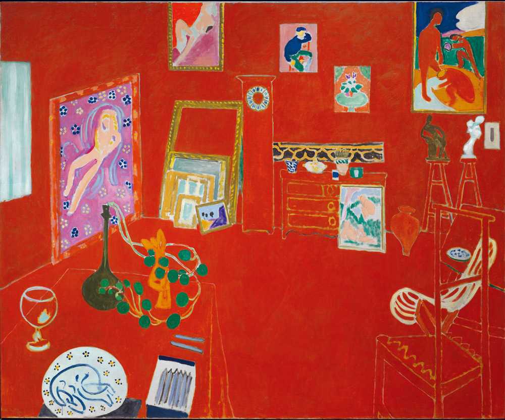 油彩畫布-181×219.1公分-紐約現代藝術博物館